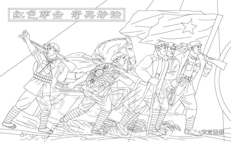 制作:寅意(上海)雕塑有限公司设计手绘稿: 酒文化浮雕(二)  浮雕材质